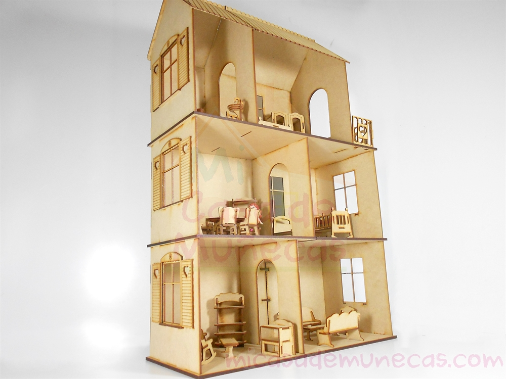 casa de muñecas pequeña