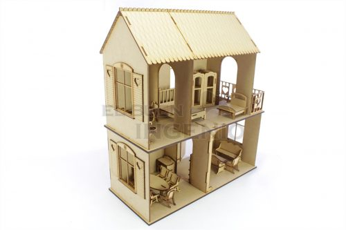 casa de muñecas Polly