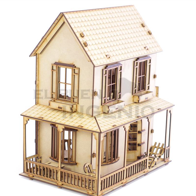 casa de campo para muñecas Polly 2