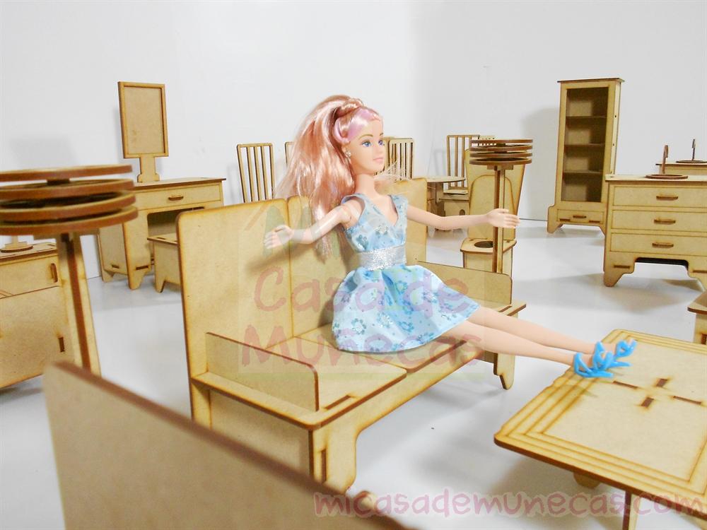 Sillon para barbie
