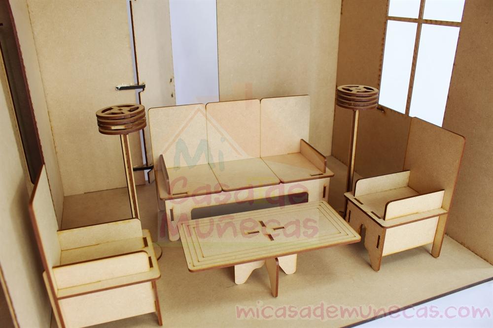 Casa de munecas Barbie C2L - Incluye 22 muebles para tu casita