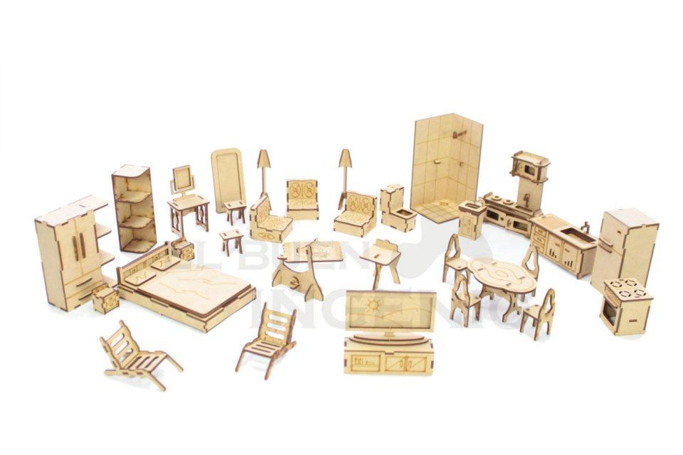 Muebles para muñecas lol surprise